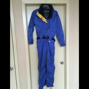 Obermeyer one piece ski suit